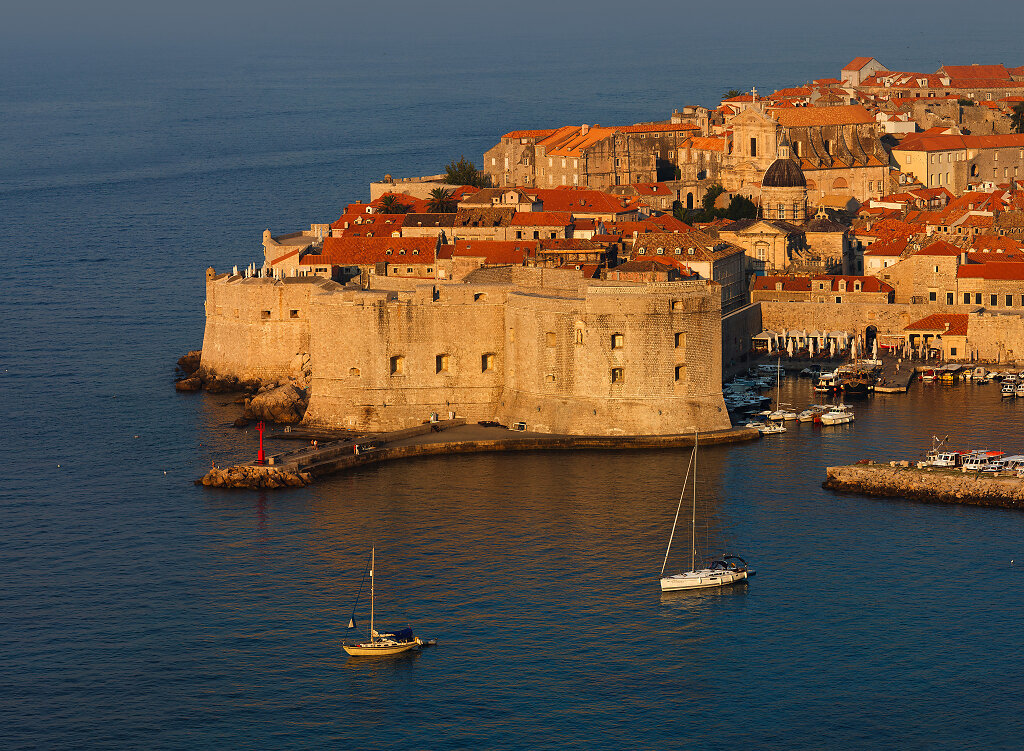 Croatia, Dubrovnik at sunrise, 2011