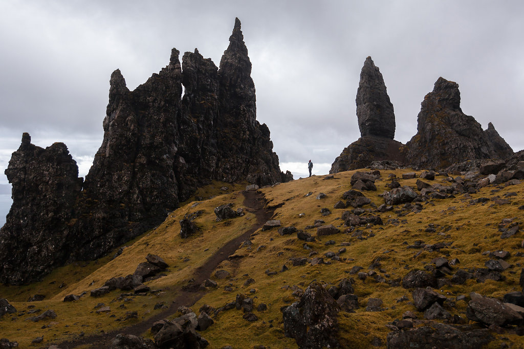 Scotland, Old Man of Storr, 2013
