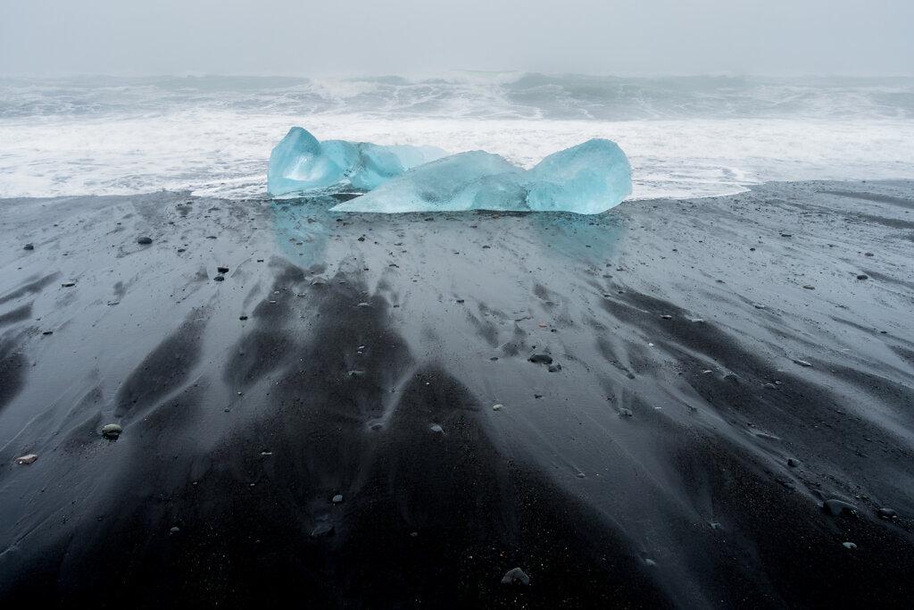 Jökulsárlón Beach Ice, 2014